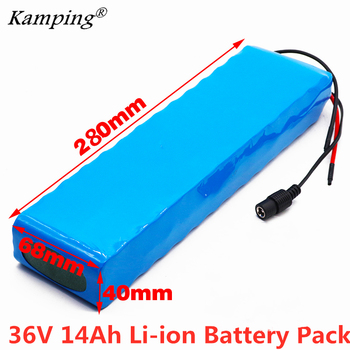 Ebike 36V 14ah Battery ebike battery pack 18650 Li-Ion Battery 500W High Power and Capacity 42V Motorcycle Scooter with bms