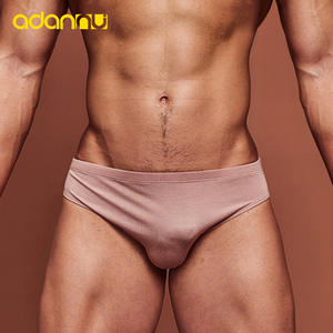 Men Underwear Briefs Modal Low-Waist Breathable Fashion Section Cool Thin Soft 9-Color