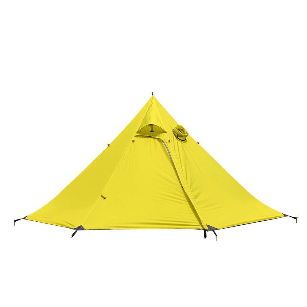 Piramida namiot Ultralight 3 4 osoby plecak namiot wodoodporny 4 sezon namiot na zewnątrz namiot kempingowy namiot rozkładany automatycznie 2 osoby namiot