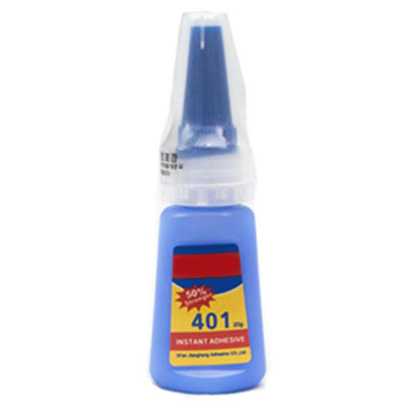20g Super Adhesive 401 Glue Multi-purpose Wood Products Plastic Toys Repair Fix Instant Glue Quick Dry Home School Office Tools