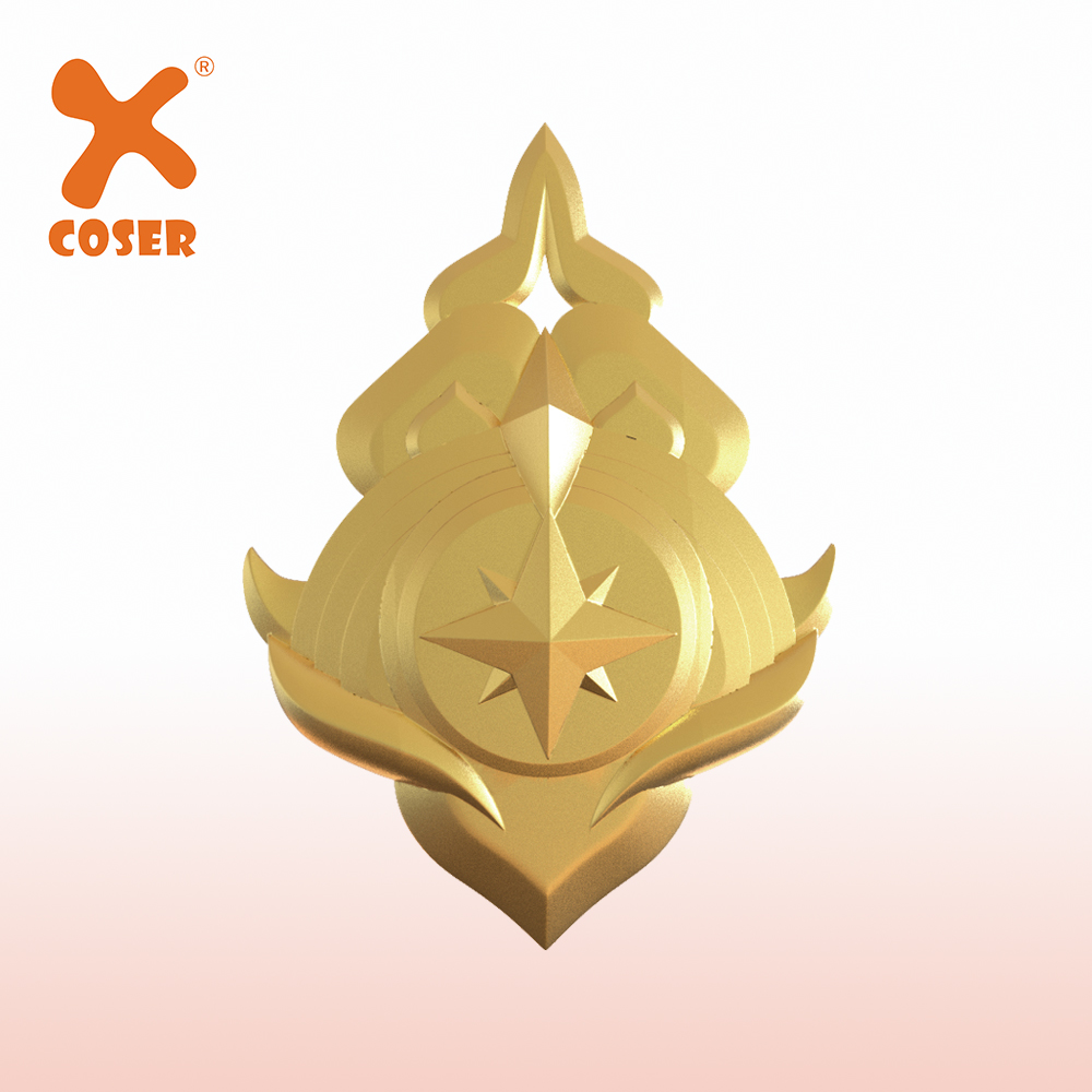 Xcoser Fire Emblem : Three Houses Protagonist Cosplay Badge Daily Wear Copslay Accessories Gift High Quality