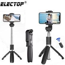 Bluetooth селфи-палка со штативом из пластикового сплава, селфи-Палка для телефона, смартфона, селфи-Палка для Iphone, samsung, huawei