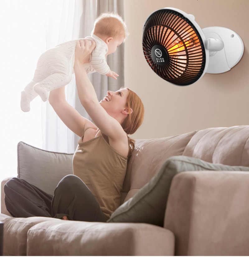 Mini Hause Heizung Infrarot 220V 220W Tragbare Elektrische Luft Heizung Warm Fan 220*205MM Desktop für winter Haushalt Bad