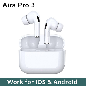Airpodding Pro 3 TWS Headphones Wireless Bluetooth Earphone with Charging Box Handsfree Stereo Sports Earbuds Headset PK i7s i9s