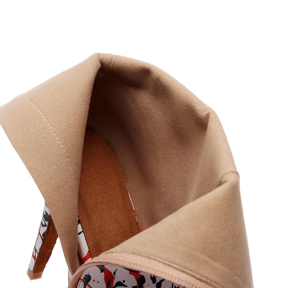 Купить с кэшбэком White leather female jazz salsa latin dance shoes dancing women waltz little feet high heels shoes boots 6-10CM