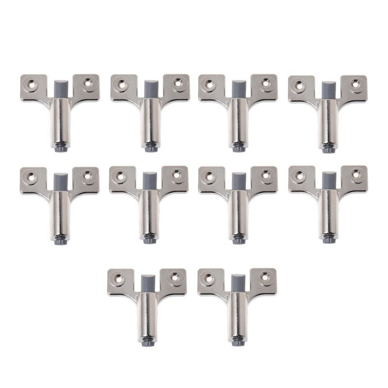 10pcs Cabinet Door Damper Quiet Adjustable Buffer Drawer Hinge Closer Catch Stopper Furniture Accessory