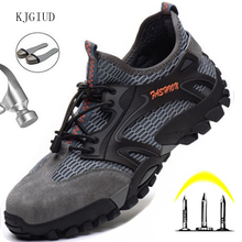 Shoes Work-Boots Safety-Work-Shoes Lightweight Breathable Men's Labor-Protection Anti-Puncture