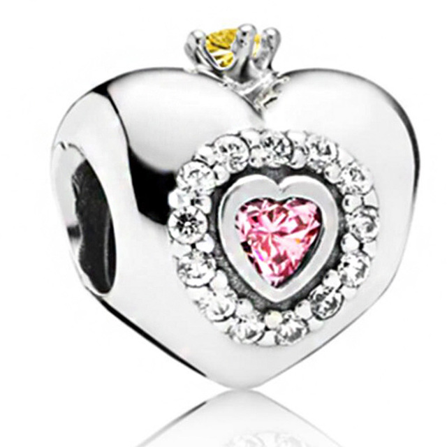 Silver Color New Dress Mickey Unicorn Charms Beads Pendant Fit Pandora Bracelets & Necklace For Women DIY Lovers Jeweley