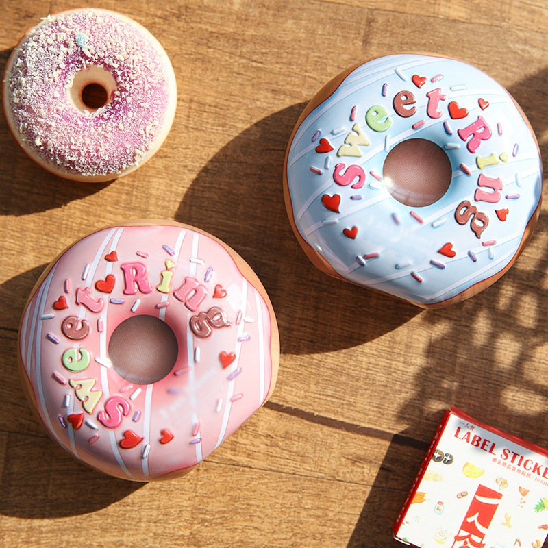 New Lovely Donut Candy Box Template Craft Sweet Favor Gifts For Wedding Holiday Party Decoration Souvenir