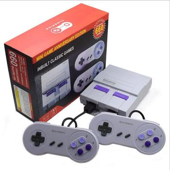New Retro Super Classic Game Mini TV 8 Bit Family TV Video Game Console Built-in 660 Games Handheld Gaming Player Gift coolbaby hdmi out retro classic handheld game player family tv video game console childhood built in 600 games for nes mini p n