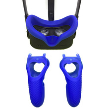 Controller-Handle-Case Headset Shell Game-Accessories Protective-Cover Quest1 Silicone