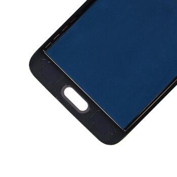 شاشات LCD لسامسونج J1 2016 عرض J120 SM-J120F J120M J120H شاشة الكريستال السائل محول الأرقام شاشة تعمل باللمس الجمعية يمكن ضبط سطوع LCD