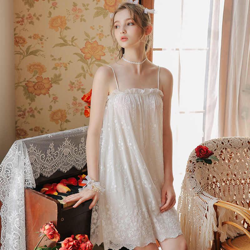 Новинка 2020, домашняя одежда принцессы, ночная рубашка, женская одежда для сна, 1361