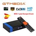 GTMedia V8 Nova Blue DVB-S2 H.265 декодер спутниковый приемник + 1 год CCcam 4 clines встроенный wifi AVS цифровой ТВ-бокс