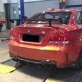 Задний фартук из углеродного волокна E82 1 м  разделитель крышки для BMW 2011-2013  автостайлинг