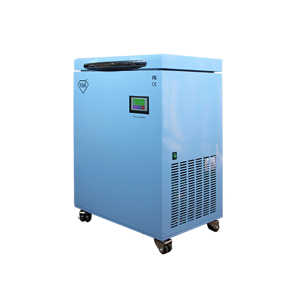TBK-588A LCD Freezing Machine With -200C Lowest Working Temperature 3