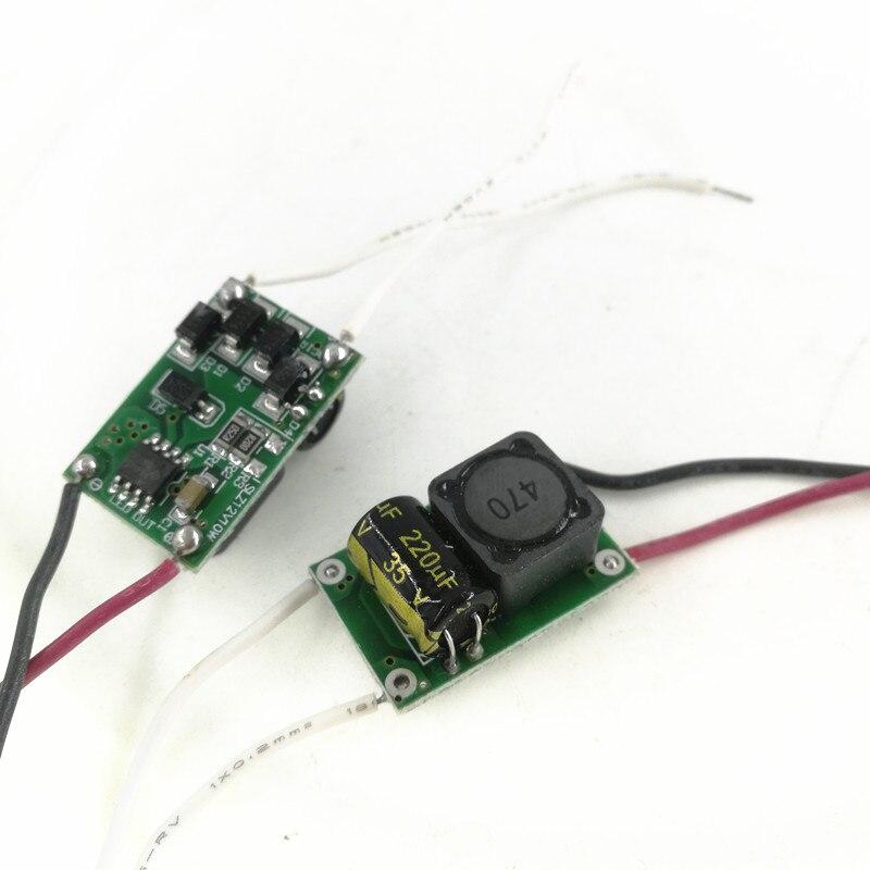 10 шт. 12 В 10 Вт Светодиодный драйвер для 3x3 Вт 9-11 в 900 мА светодиодный трансформатор высокой мощности 10 Вт, бесплатная доставка