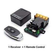 Scimagic 110V 220V 240V 30A Relay Wireless RF Smart Remote Control Switch Transmitter+ Receiver 433MHz Remote controller