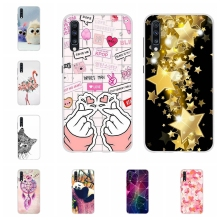 For Samsung Galaxy A10 A40 Case Soft TPU Silicone A20 A30 Cover Cute Pattern A50 A70 Coque