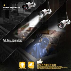 Image 4 - HD 1080P 5MP Wifi IP Kamera Outdoor Wireless Onvif Volle Farbe Nachtsicht CCTV Gewehrkugel Sicherheit Kamera TF Karte slot APP CamHi