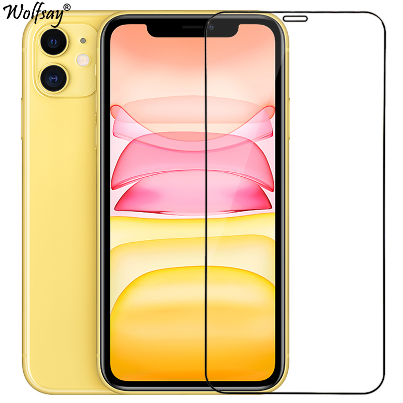 2PCS Tempered Glass For iphone 11 Screen Protector 9H Toughened Premium Glass For iphone 11 Glass For iphone 11 Protective Film