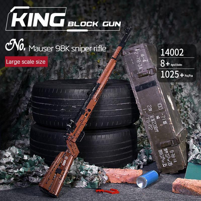 Оружие Второй мировой войны SWAT, пистолет серии Mao se 98K Desert Eagle, пулемет AK47, совместимый пистолет, модель, строительные блоки, игрушки