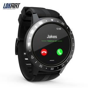 Image 2 - LOKMAT SMA TK05 Smart Watch 1.3inch Screen BT3.0+4.0  Pedometer Heart Rate Alarm Remote Camera GPS Sports Smartwatch Men Women