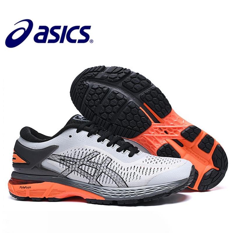 Asics Gel Kayano 25 кроссовки для мужчин оригинальные Asics Gel Kayano 25 спортивная обувь Подушка светильник Asics Gel Kayano 25