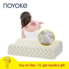 Ортопедическая подушка NOYOKE, массажная латексная подушка для сна, для облегчения боли в шее, Шейная кровать, подушка, мягкая подушка для боковых спящих