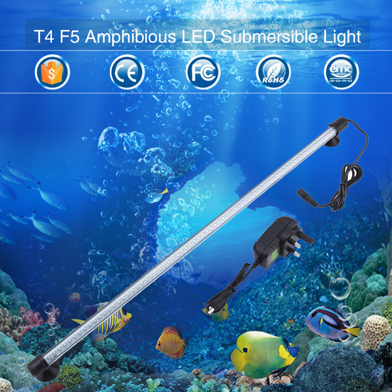 Gako Green LED Aquarium Light 19/30/42CM Fish Tank Submersible Lighting  Aquarium Amphibious LED Lamp