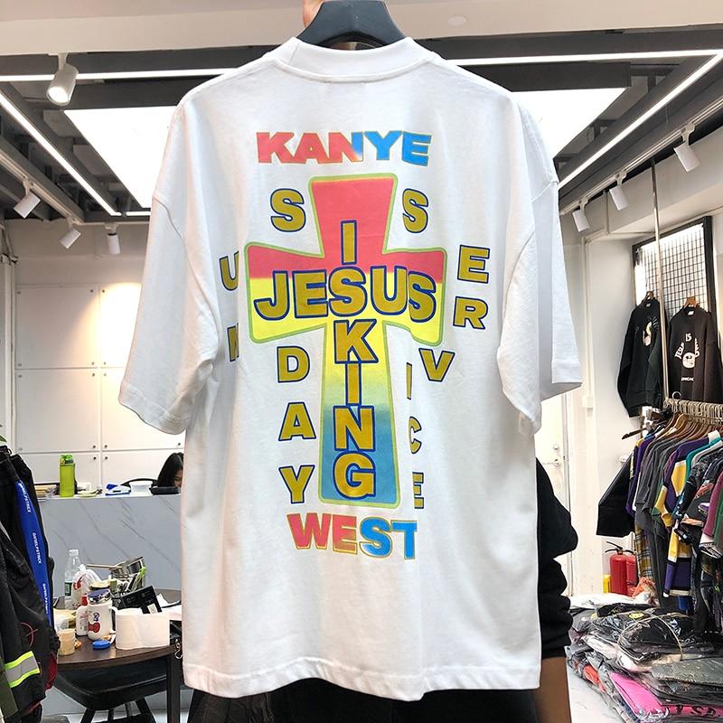 Jesus Is King Kanye West Men Women T-shirts  1
