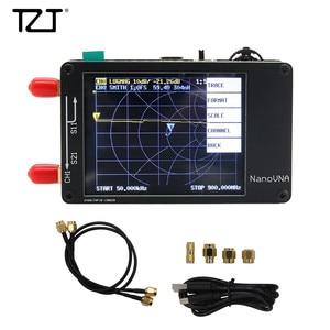 Image 5 - TZT NanoVNA Vector Analyzer 50KHz 900MHz HF VHF UHF Antenna Analyzer 2.8 inch LCD Display with Battery
