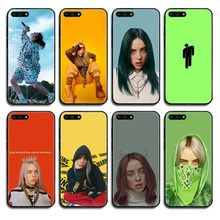 bad guys Billie eilish luxury back black Phone case cover hull For Huawei Honor Mate 5 6 7 8 9 10 20 30 A C X Lite Pro(China)
