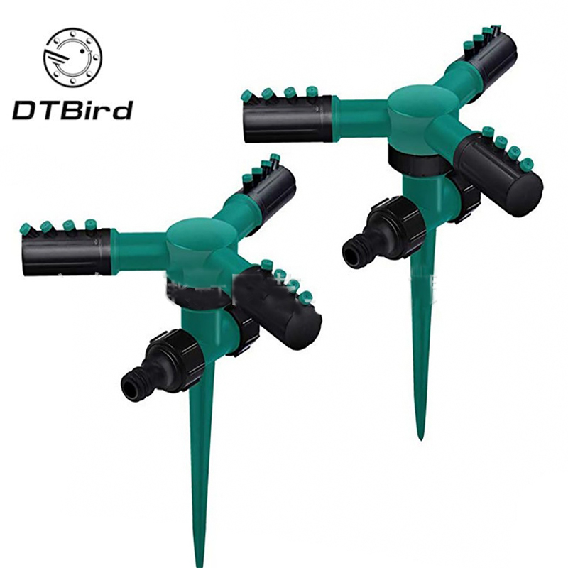 Best Price Lawn Sprinkler Automatic 360 Rotating Garden Water Sprinklers Lawn Irrigation Lawn irrigation yard irrigation cooling #0424 4000245528864
