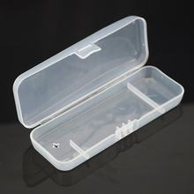 Portable Travel ABS Cover Manual Razor Protective Transparent Box Holder Cover Men Shaving Case For Travel(China)