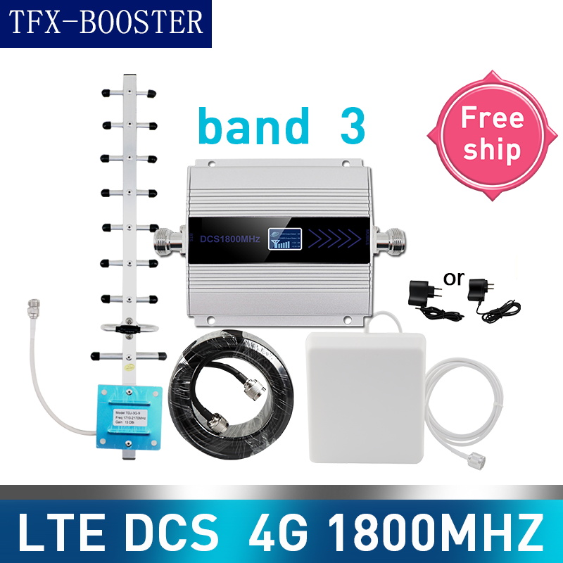 TFX-BOOSTER 1800 LTE DCS Cellular Signal Booster 1800mhz 4G Mobile Network Booster Cellular Phone Repeater Amplifier Band 3 4g