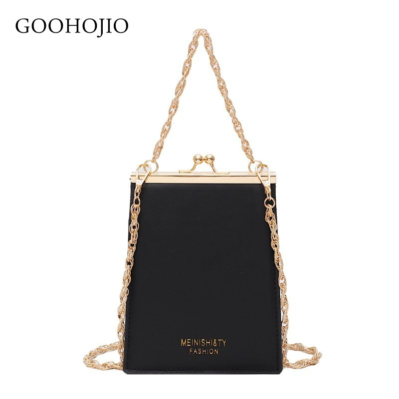 Luxury Handbags Women Bags Designer Hasp Tote Bags For Women 2019 New Quality PU Leather Chain Purse Shoulder Messenger Bags