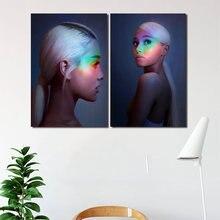 Плакаты на холсте с принтом сексуальная Ариана Гранде картина