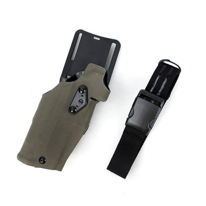 TMC X300 Light Bearing 6360 Holster For G17 18 With QL Mount Ranger Green Multicam Black(SKU051458)