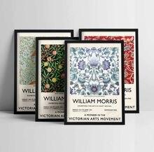 Affiche sur toile imprimée de William Morris, affiche d'exposition du musée Victoria et alice, Art abstrait, nouvelle peinture murale pour la décoration de la maison