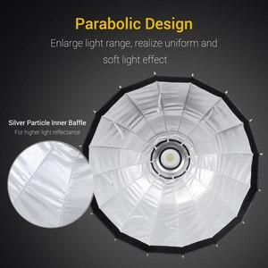 Image 2 - Nicemoto Softbox Hexagonal de Instalación rápida para estudio, 60cm/23,6 pulgadas, con paño difusor suave para luz de fotografía Speedlite