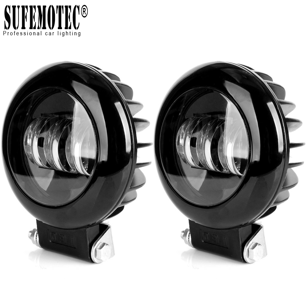 5 Inch Round Led Work Light 12V For Car Auto 4x4 Offroad ATV Tractors Truck SUV Uaz Niva Motorcycle Driving Light Fog Lamp