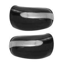 Cubierta para espejo de puerta de coche, luz de señal de giro para Mercedes Benz W220 W215 S320 S430 2208100164