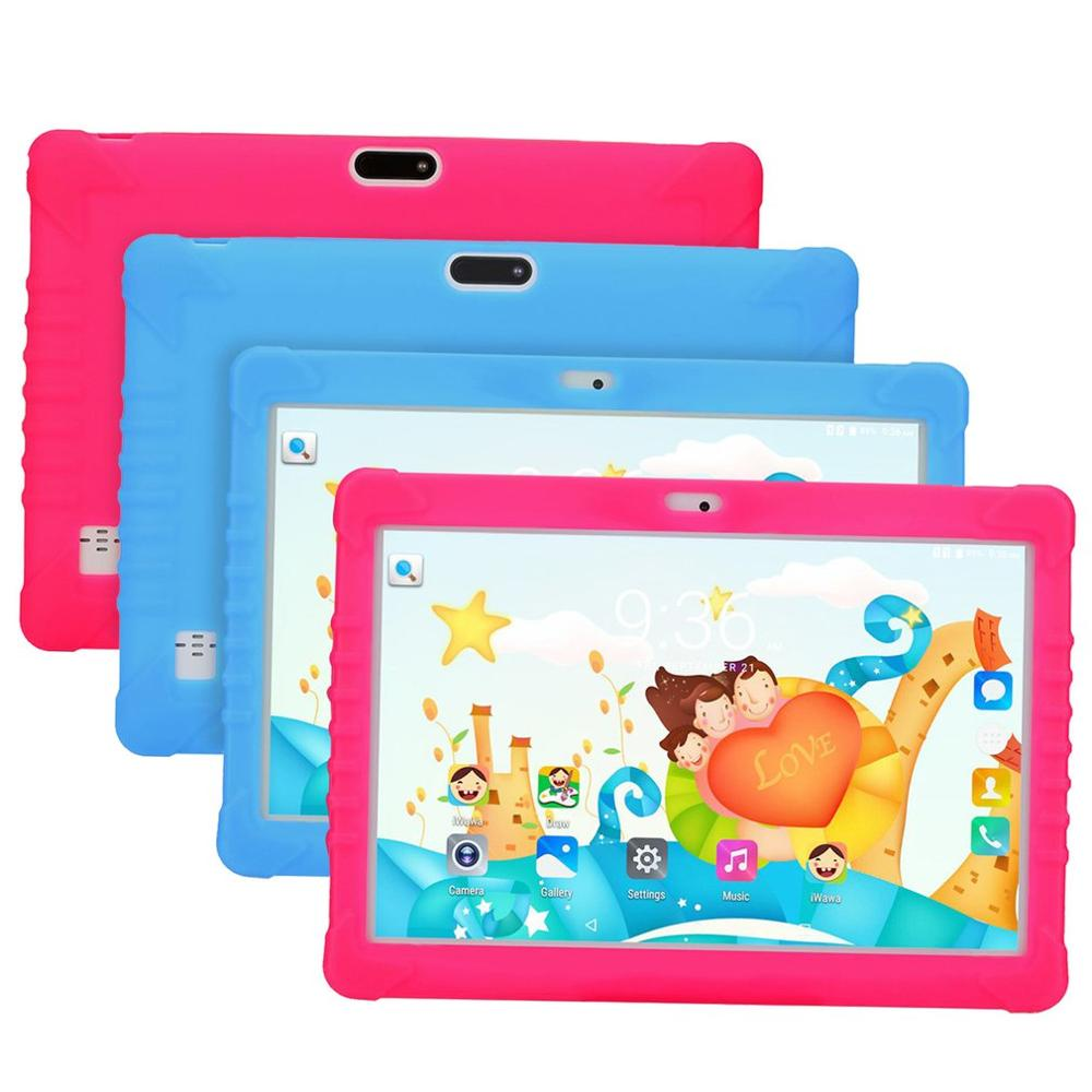 10 Inch 3G Unlocked Quad Core Kids Tablet PC Android APPs For Learning Computer Educational Machine Tablet Gift