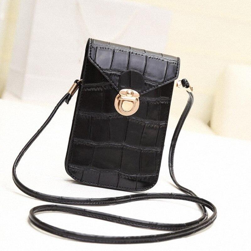 Mobile Phone Bag Multifunctional Retro Fashion Coin Purse Mini Diagonal Cross Ladies Bag Crossbody Shoulder Bag Women Bag