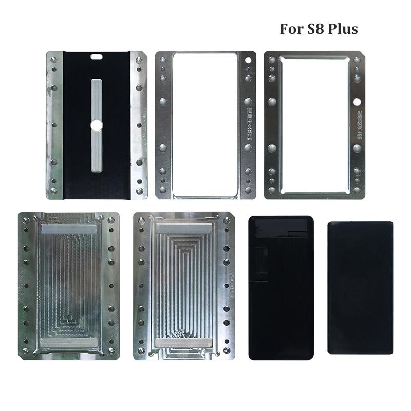 Para Samsung Galaxy S9 S9 Plus S8 S8 S7 Edge molde de laminación de pantalla LCD molde de alineación Oca de vidrio LCD cable flexible sin doblar para YMJ M - 3