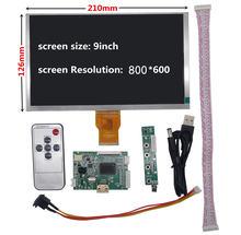 9 дюймов ЖК дисплей Экран Дисплей мониторов происходит Управление