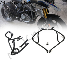 For BMW G310GS G310 GS 2017-2020 Motorcycle Tank protector Upper & Lower Carsh Bars Guard Engine Bumper Cover Black msdtoys s6 lower body cover black