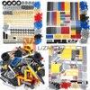 Technology Set Building Blocks Bricks Car Tires Gear Liftarm Beam Cross Axle DIY Assembling MOC Bulk Enlighten Plastic Toys