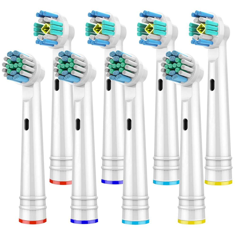 Toothbrush Heads for Oral B Electric Toothbrush 2 Model for Oral B Electric Advance/Pro Health/Triumph/3D Excel/Vitality image